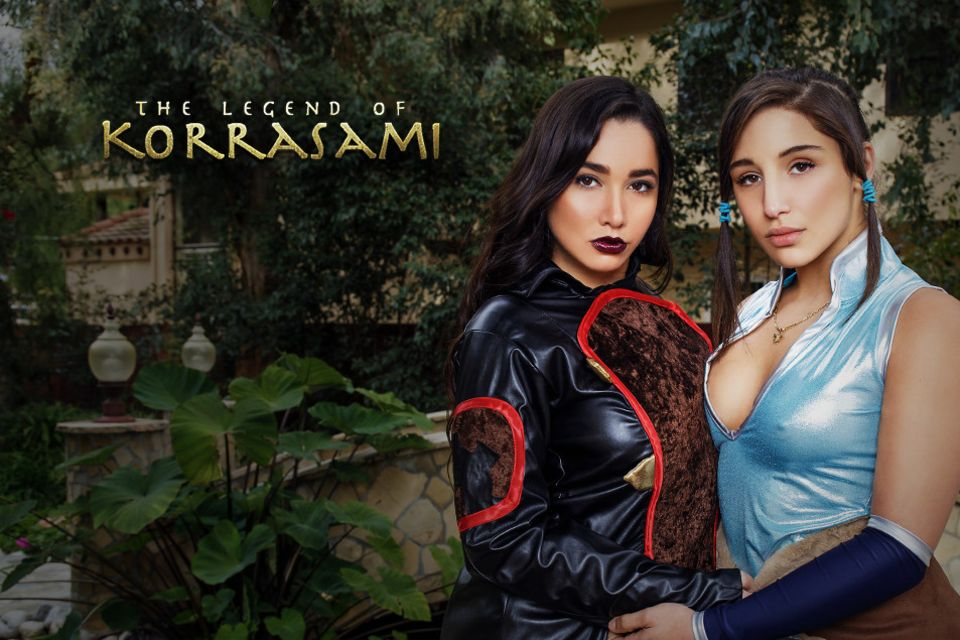 The Legend of Korrasami XXX Parody, Karlee Grey, Abella Danger, Mar 25, 2017, 3d vr porno, HQ 1920