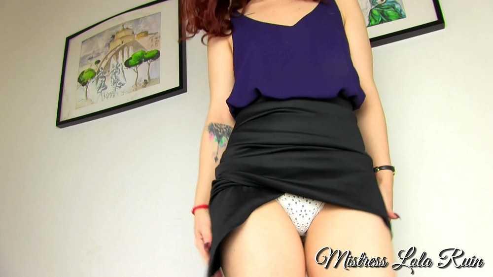 Mistress Lola Rain - Bitch boss panty worship