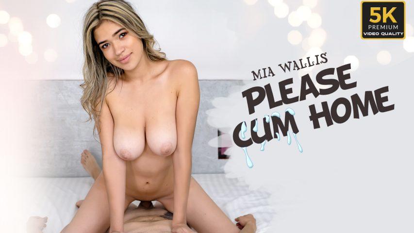 Please Cum Home, Mia Wallis, Apr 1, 2019, 5k 3d vr porno, HQ 2650