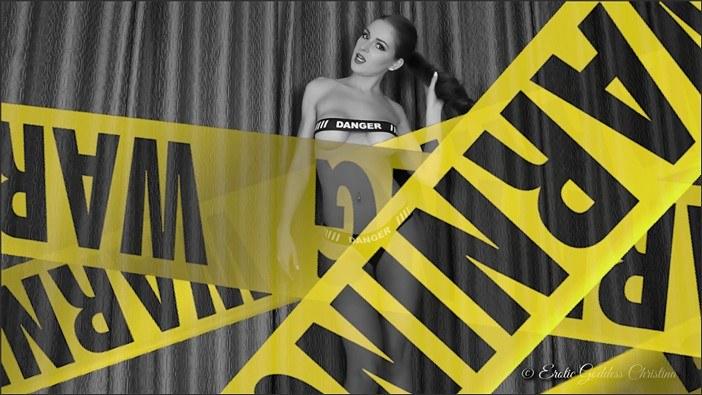 Goddess Christina - ENTER the DANGER Zone. Slave Task + Instructions