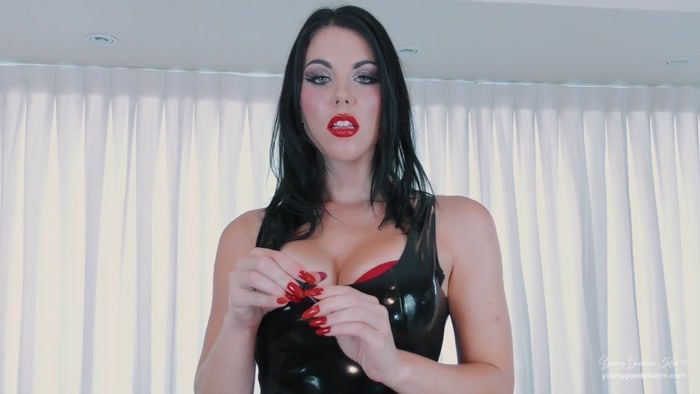 Goddess Kim - Sissy Cum Slut