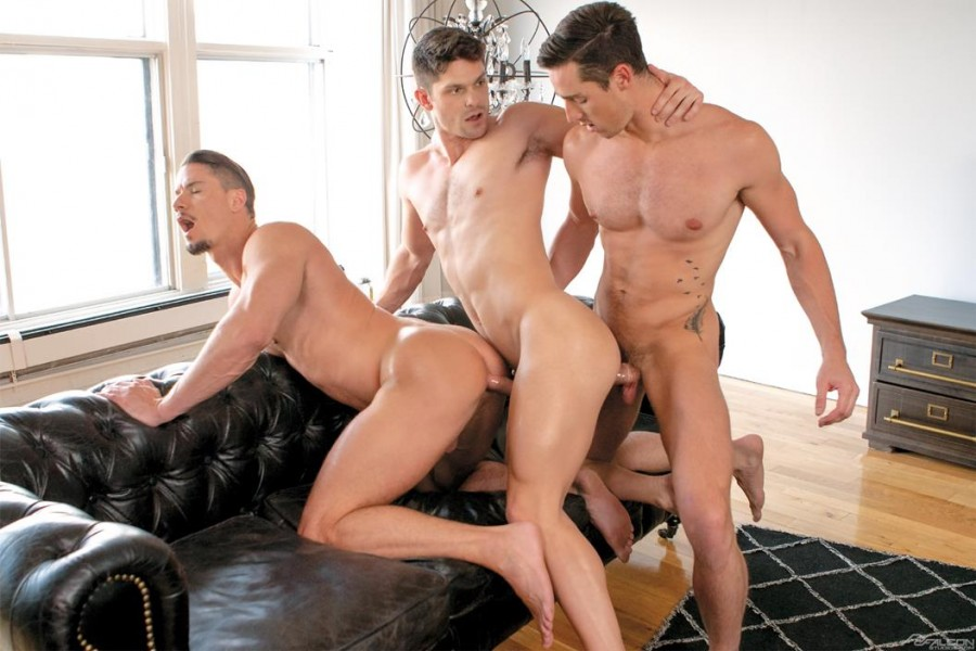 FalconStudios - Skyy Knox, Devin Franco & Steven Lee - Love and Lust in Montreal
