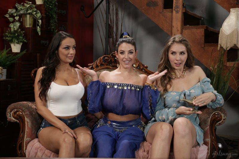 Angela White, Lena Paul, Sofi Ryan – Supernaturally Stacked – Girls Way – HD 720p