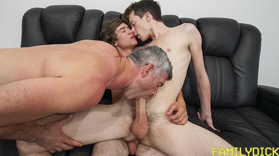 FamilyDick - Landon Matthews , Bill Farnsworth , Alex Meyer - Family Man Ch 3 - The Cute Boy Next Door