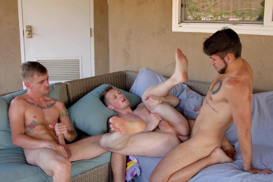 NextDoorOriginals - Jackson Cooper, Ryan Jordan, Dante Colle - Caught Watching
