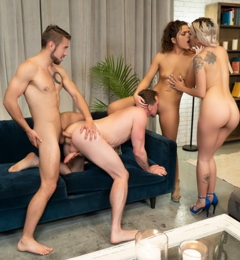 WhyNotBi - And Then There Were Four - Sophia Grace, Victoria Voxxx, Dante Colle, Pierce Paris