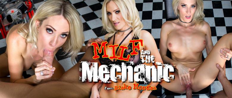 MILF and the Mechanic, Blake Morgan, 6 Jul, 2017, 3d vr porno, HQ 1600