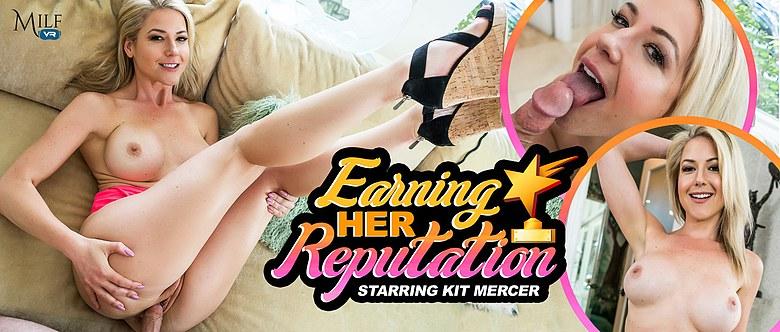 Earning Her Reputation, Kit Mercer, 9 May, 2019, 4k 3d vr porno, HQ 2300