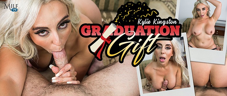 Graduation Gift, Kylie Kingston, 30 May, 2019, 4k 3d vr porno, HQ 2300