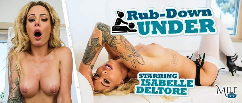 Rub-Down Under, Isabelle Deltore, 14 Aug, 2019, 4k 3d vr porno, HQ 2300