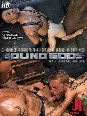 Bound Gods - CJ Madison & Sebastian Keys - CJ Madison returns with a tight chain around his boy's neck