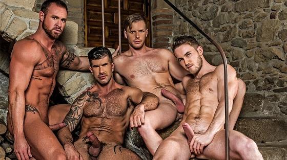 LR - Piss Play - Marq Daniels, Michael Roman, Adam Killian & Brian Bonds