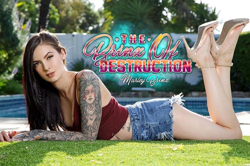 The Brinx Of Destruction, Marley Brinx, May 16, 2019, 5k 3d vr porno, HQ 2700