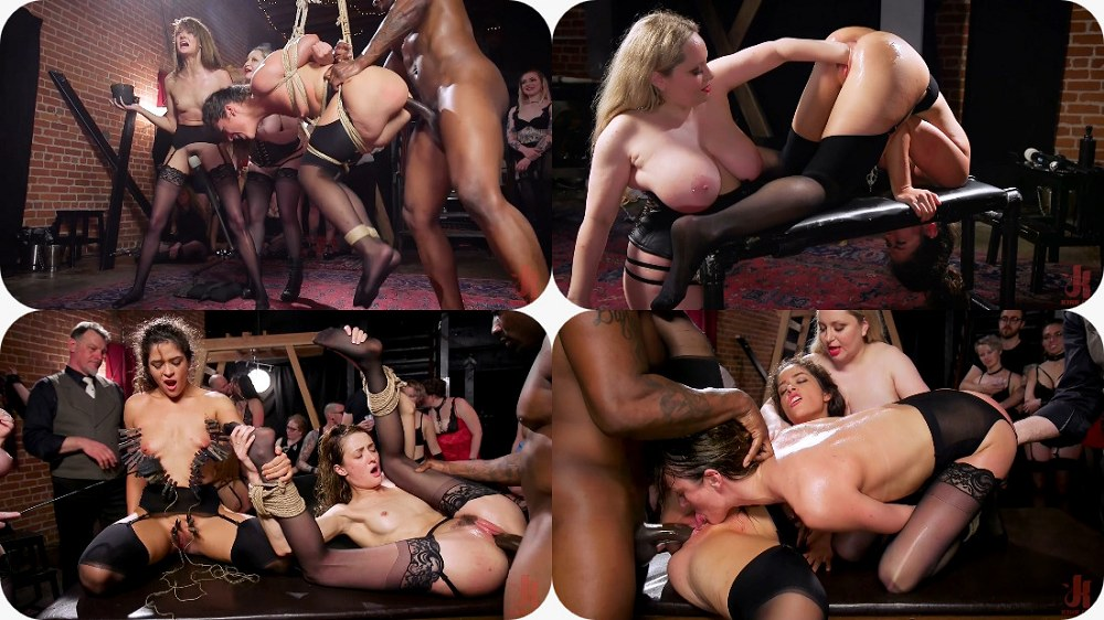 Aiden Starr, Victoria Voxxx, Zoe Sparx - Masochistic Anal Sluts Suffer and Squirt For BDSM Party