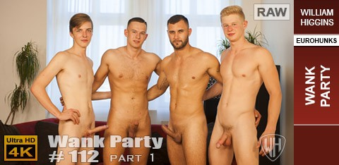 WH - Wank Party #112 Part 1 RAW - Gerasim Spartak, Martin Hovor, Peto Mohac, Tony Milak