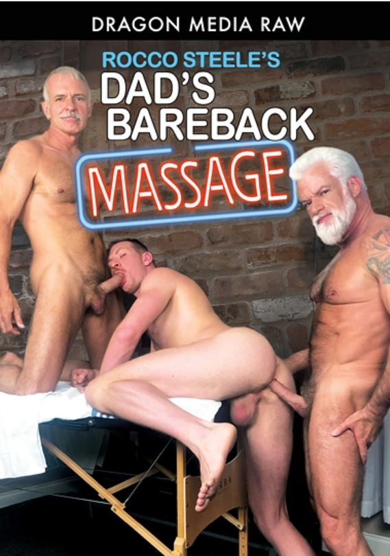 DragonMedia - Rocco Steele's Dad's BareBack Massage