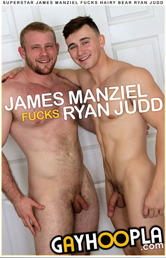 GayHoopla - Superstar James Manziel Fucks Hairy Bear Ryan Judd