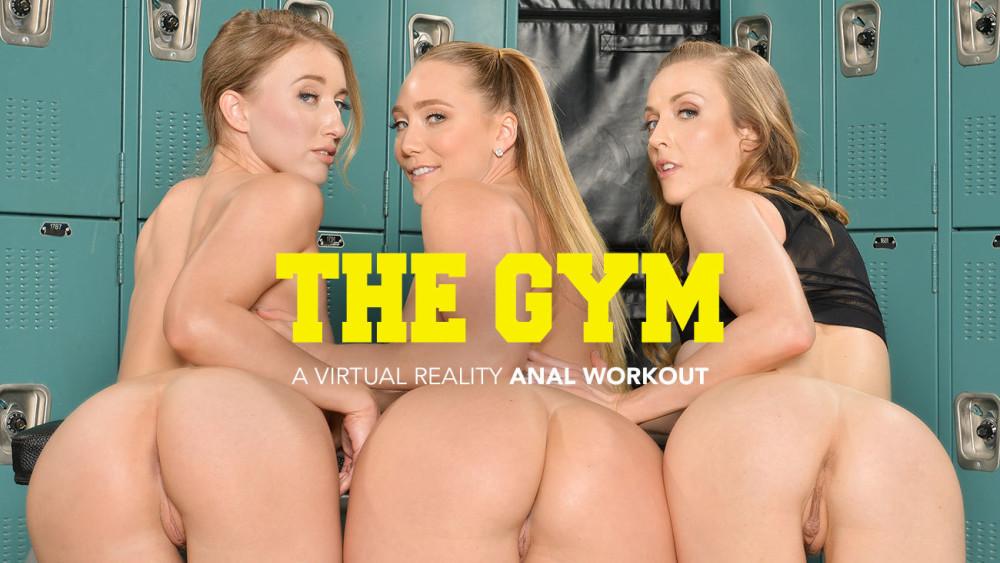 The Gym, AJ Applegate, Karla Kush, Riley Reyes, January 11, 2019, 4k 3d vr porno, HQ 2048