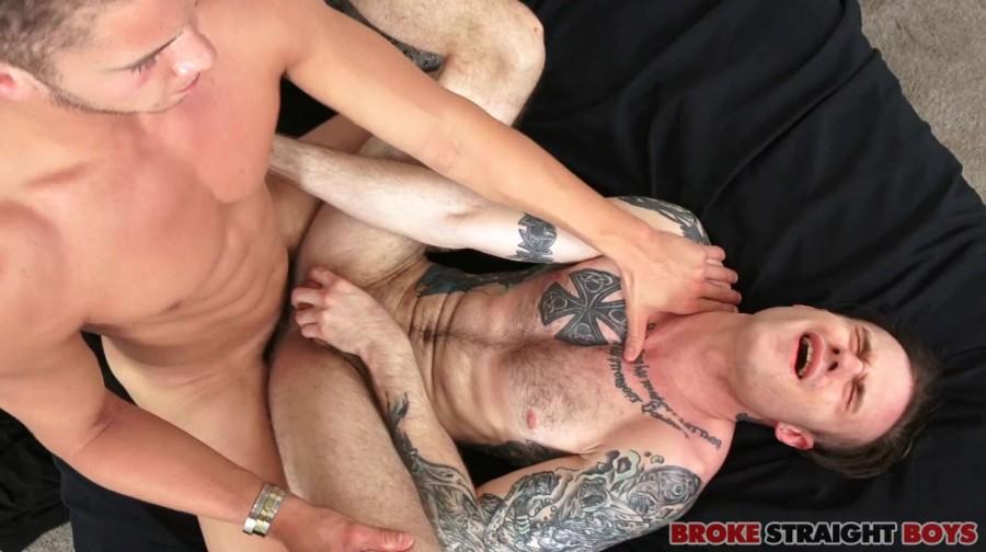 BrokeStraightBoys - Tanner Valentino Doggy Style Fucks Cody Smith