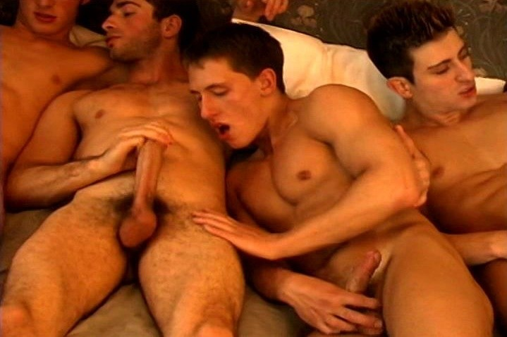 LE - To Moscow With Love - Scene 4 - Michael Lucas, Yuri Ivanoff, Ivan Kotov and Gregor Karpoff
