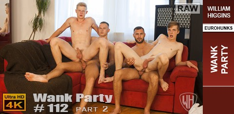 WH - Wank Party #112 Part 2 RAW - Gerasim Spartak, Martin Hovor, Peto Mohac, Tony Milak