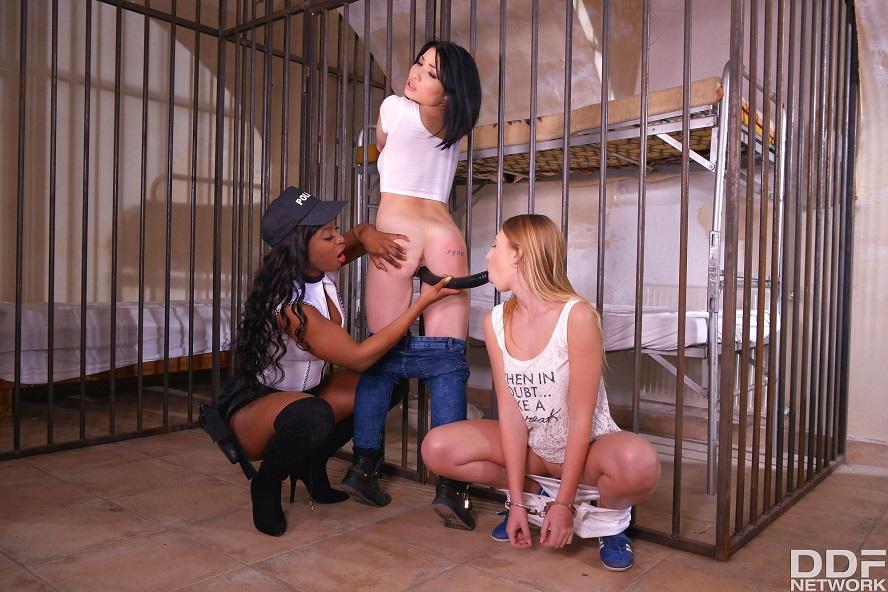 Penetrated in Prison, Jasmine Webb, Milana Blanc, Rina Ellis, April 06, 2017, 3d vr porno, HQ 2160