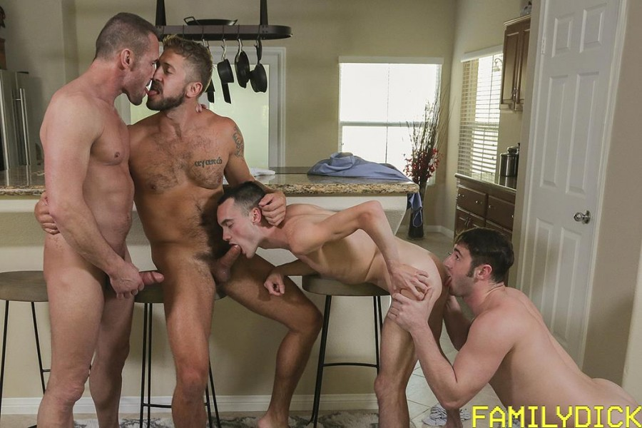 FamilyDick - Where's My Package - Joe Ex, Michael Boston, Myles Landon, Wesley Woods