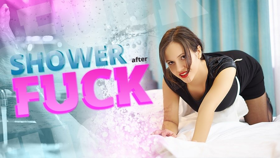 Shower after fuck, Miss K, Aug 10, 2018, 3d vr porno, HQ 2160