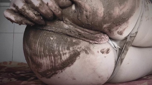 DirtyBetty (aka SweetBettyParlour) - Pantypooping, With Scat Play (2019 / FullHD 1080p)