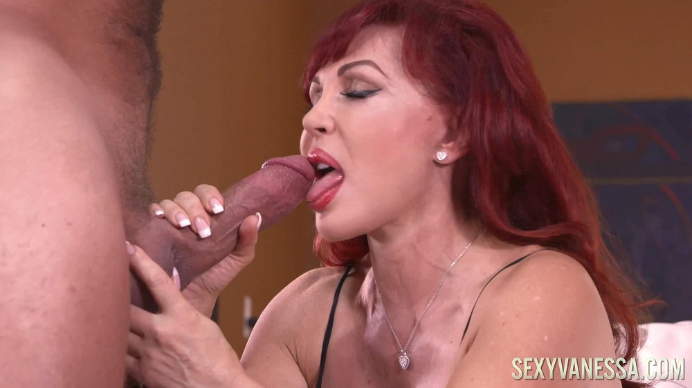 Sexy Vanessa in My Big Mouthful!