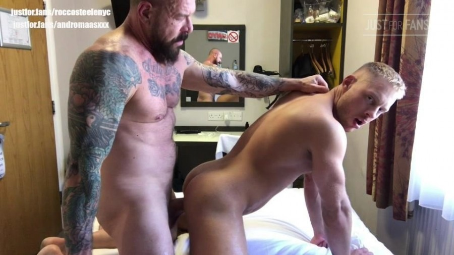 JustForFans - Rocco Steele & Andro Maas