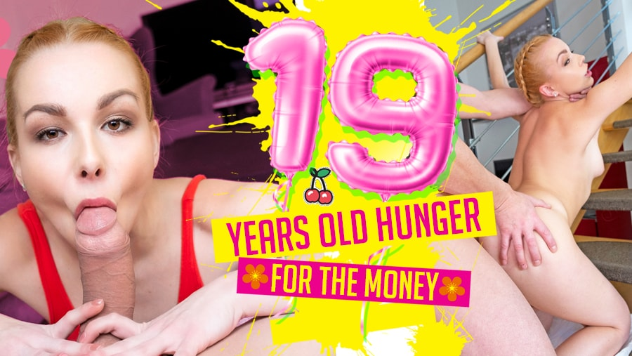 19 Years Old Hunger For The Money, Rebecca Black, Mar 02, 2019, 3d vr porno, HQ 2160