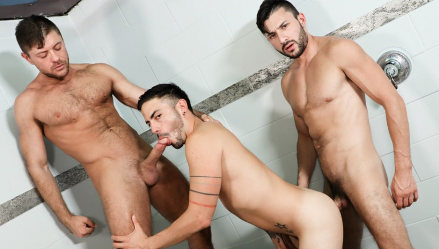 ExtraBigDicks - Cesar Rossi, Scott DeMarco, Jack Andy - Two Big Dicks Are Better Than One!