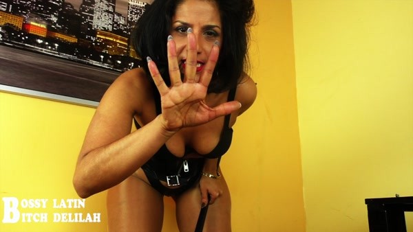 Scat Queen Delilah - I will shove that shit down your throat, no mercy! (HD 720p)