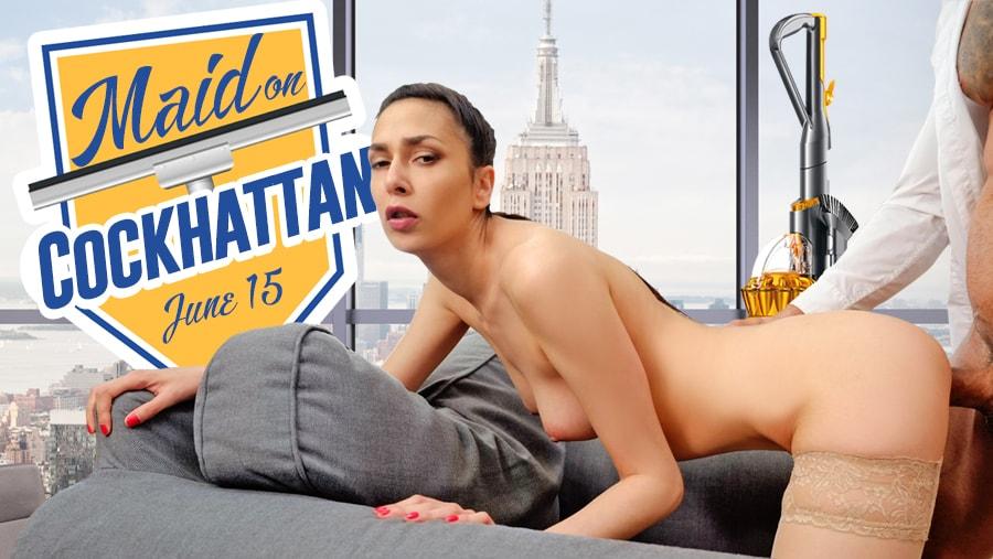 Maid On Cockhattan, Ashley Ocean, Jun 22, 2019, 3d vr porno, HQ 2160
