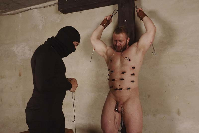 RusCapturedBoys - Bodybuilder Stepan Naked. Part II
