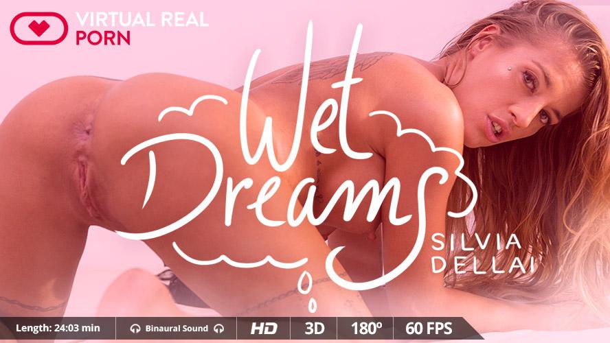 Wet dreams, Silvia Dellai, Nov 03, 2017, 3d vr porno, HQ 1600