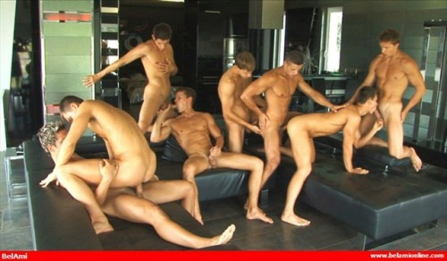BelAmi - Peters Twins Orgy Part2