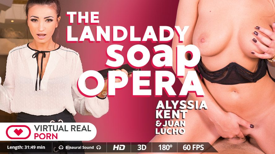 The landlady soap opera, Alyssia Kent, Nov 27, 2017, 3d vr porno, HQ 1600