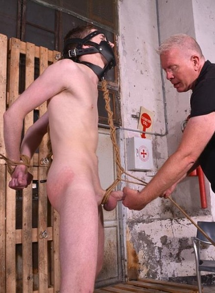 BoyNapped - A Lesson In Kink For Hung Blake Harvey - Part 1