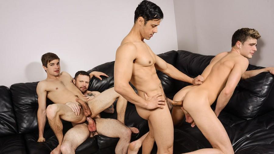 MEN - I'm Leaving You Part 5 - Johnny Rapid, Rafael Alencar, Sergeant Miles, Travis Stevens