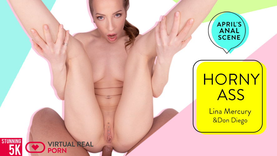 Horny ass, Lina Mercury, Apr 19, 2019, 5k 3d vr porno, HQ 2700