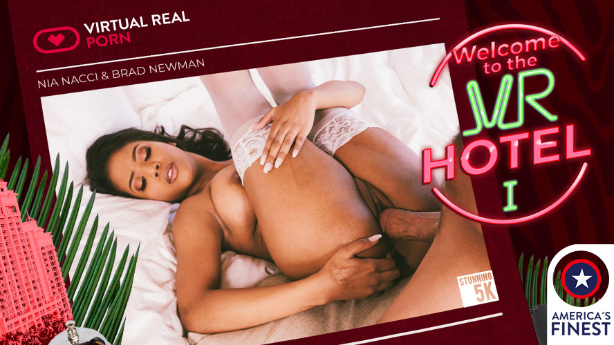 Welcome to the VR Hotel I, Nia Nacci, Jul 16, 2019, 5k 3d vr porno, HQ 2700