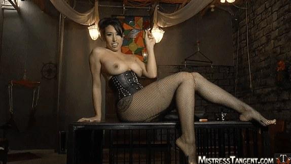 Mistress Tangent - Smoking Stockings