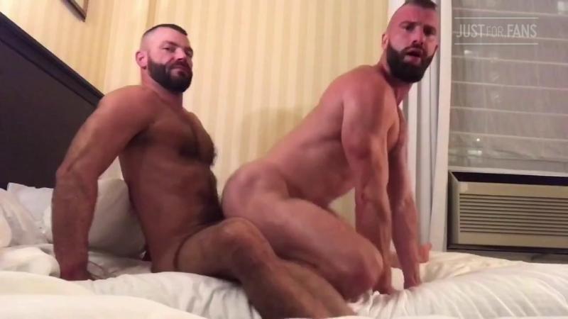 JustForFans - Jake Morgan & Donnie Argento Flip Fuck