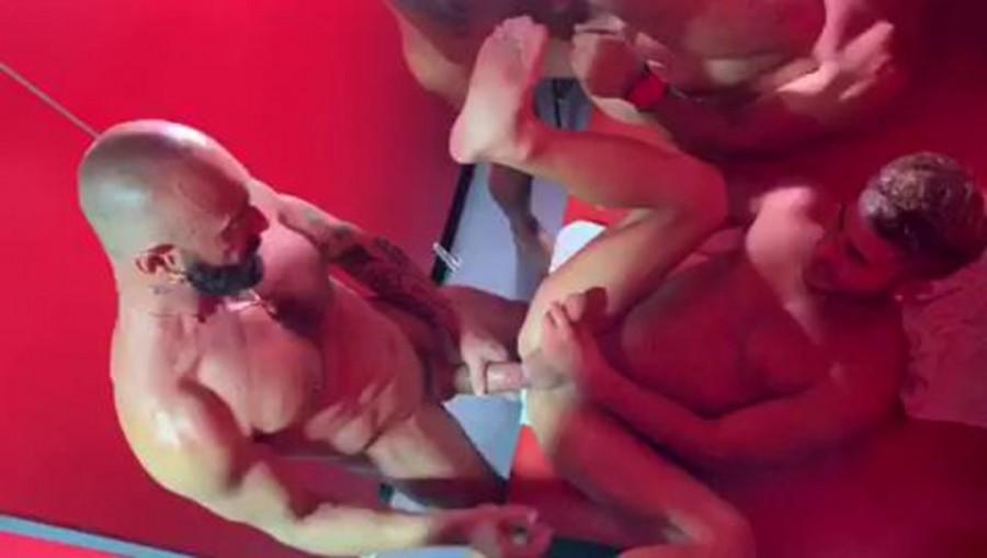 RawFuckClub - Joe Gillis, Allen King, Gianni Maggio, Viktor Rom - Bathhouse whores