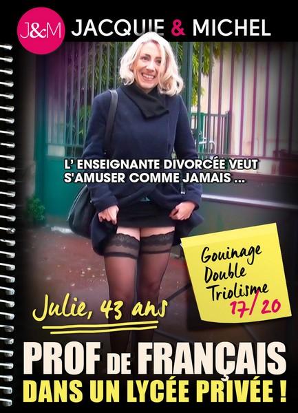 Julie, Prof de Francais dans un Lycee Privee ! (HD Rip 720p)