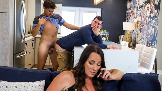 GayWire - Jason Wolf & Jeremy Spreadums - Jason Fucks His Stepdad Again