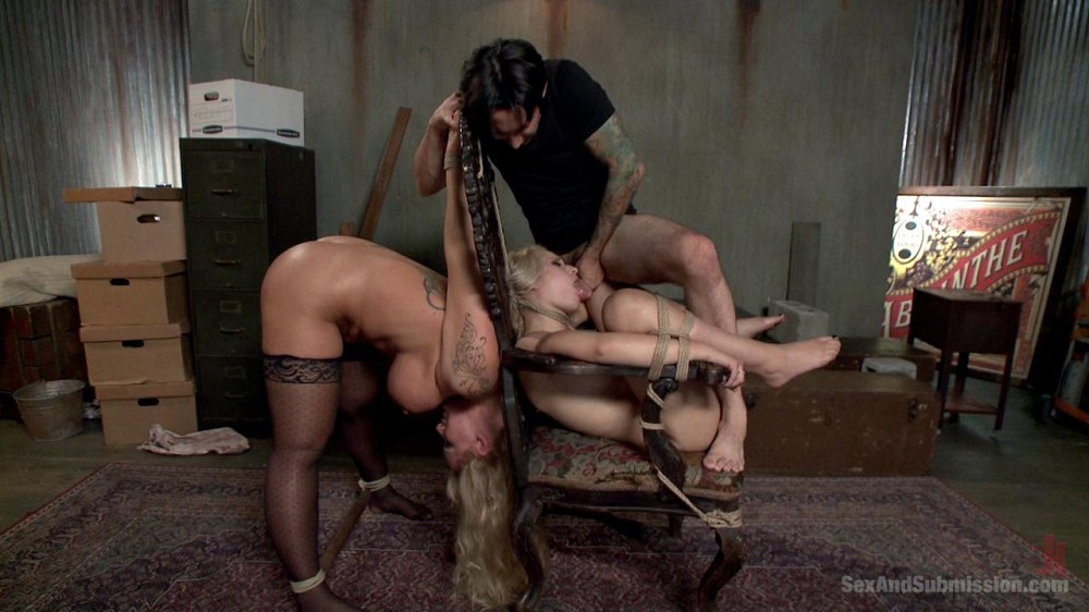 SexAndSubmission / Kink - Tommy Pistol, Ryan Conner and Goldie - The Hostages