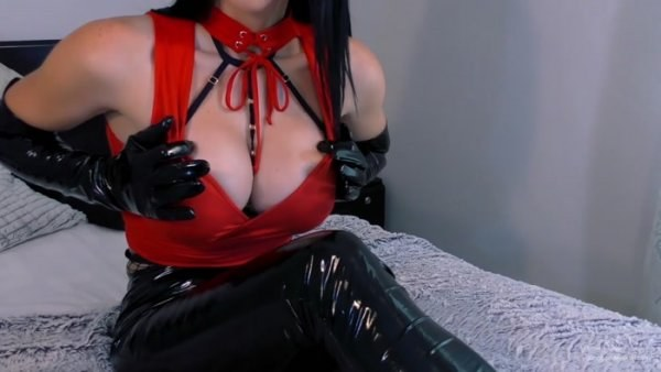 Young Goddess Kim - Leashed Tease